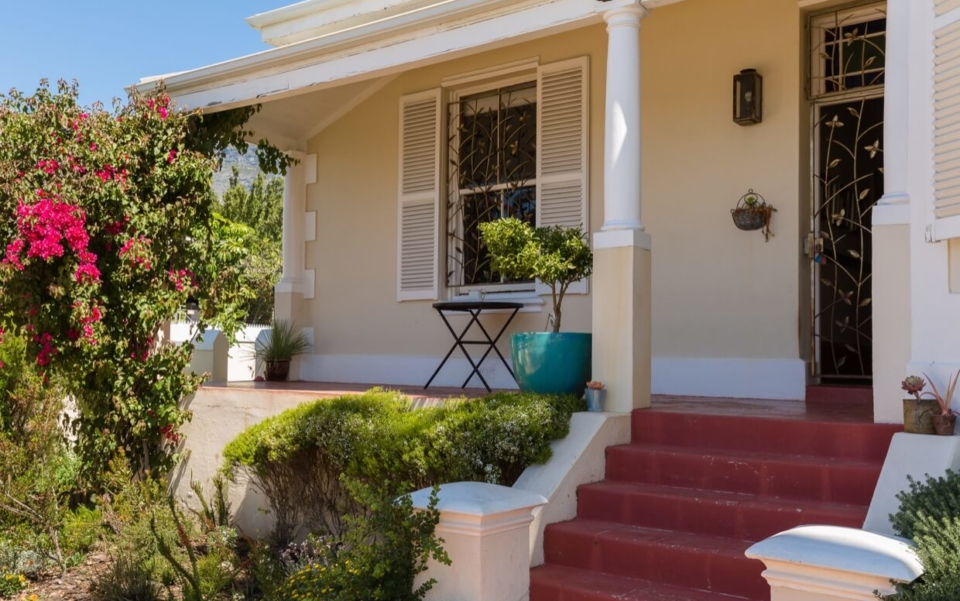 Luxury Holiday Villa Vacation Accommodation Cape Town Burnside Cottage Outdoor05