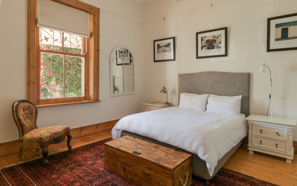 Luxury Holiday Villa Vacation Accommodation Cape Town Burnside Cottage Bedroom