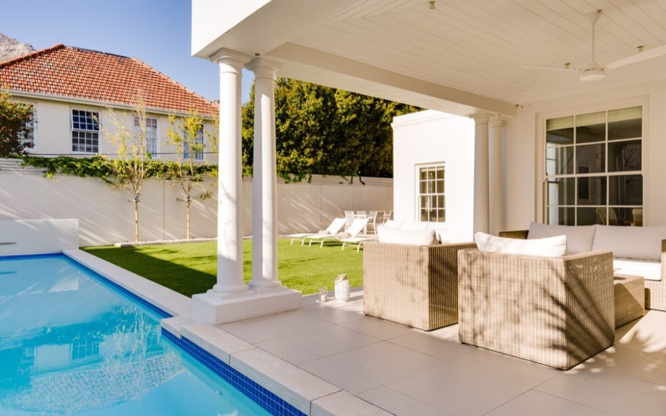 Luxury Villa Rental Cape Town Camps Bay Cloud House Outdoor02