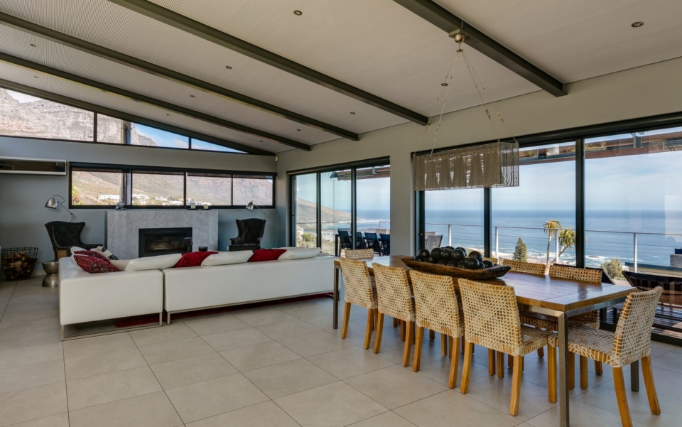 Luxury Villa Rental Cape Town Camps Bay Hely Horizon Dining To Lounge New