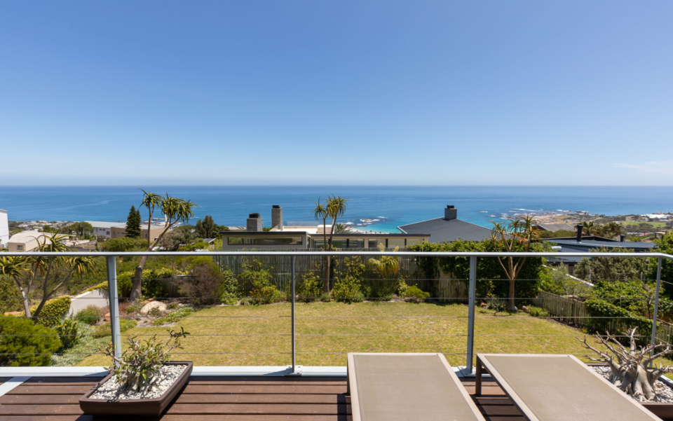 Luxury Villa Rental Cape Town Camps Bay Hely Horizon View From Upper Deck