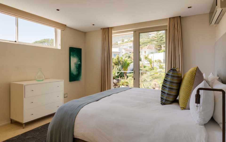 Luxury Villa Rental Vacation Home Cape Town Camps Bay Finchley Bedroom 2 And Patio
