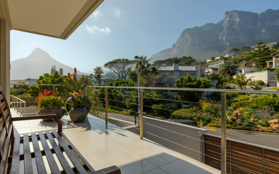 Luxury Villa Rental Vacation Home Cape Town Camps Bay Finchley Bedrooms 2 And 3 Patio