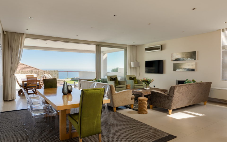 Luxury Villa Rental Vacation Home Cape Town Camps Bay Finchley Lounge And Patio