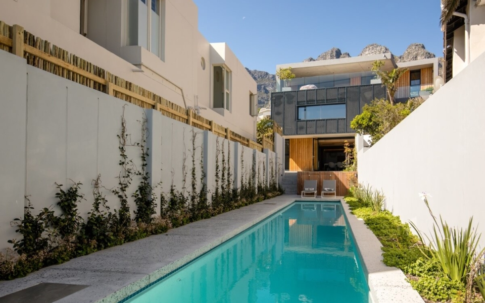 Cape Town Camps Bay Luxury Villa Victoria 54 Pool To The House