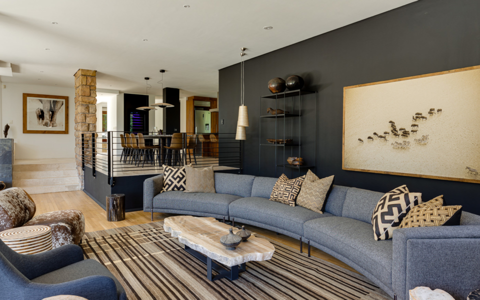 Luxury Cape Town Camps Bay Holiday Villa Le Thallo Lounge