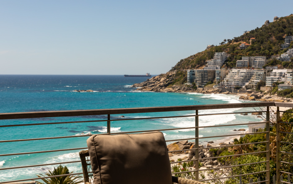 Luxury Cape Town Clifton Villa Day View Balcony