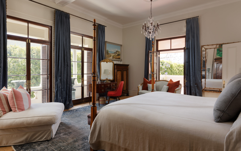 Luxury Cape Town Holiday Villa Bedroom 2 Out